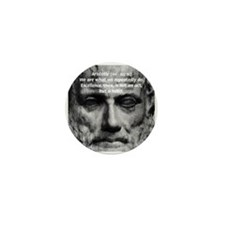 Greek Philosophy: Aristotle Mini Button (10 pack)