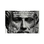 Greek Philosophy: Aristotle Rectangle Magnet (10 p