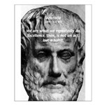 Greek Philosophy: Aristotle Small Poster