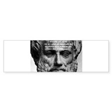 Greek Philosophy: Aristotle Bumper Bumper Sticker