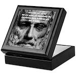 Greek Philosophy: Aristotle Keepsake Box