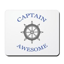 """Captain Awesome"" Mousepad"