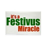 Festivus Miracle Rectangle Magnet