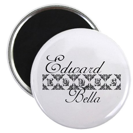 Edward Loves Bella Twilight Magnet