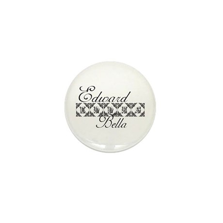 Edward Loves Bella Twilight Mini Button (10 pack)
