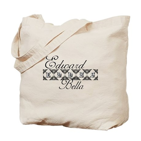 Edward Loves Bella Twilight Tote Bag