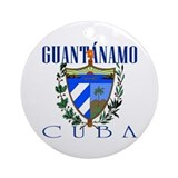 Guantanamo Ornament (Round)