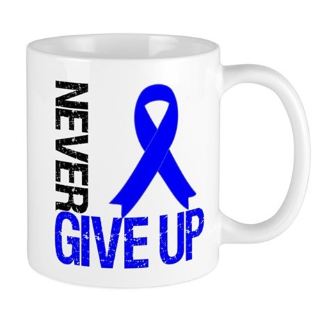 NeverGiveUp Colon Cancer Mug