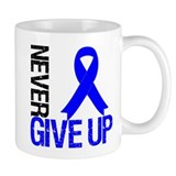 NeverGiveUp Colon Cancer Small Mug