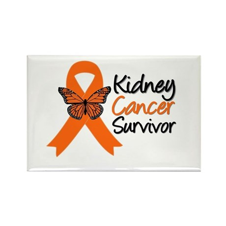 Kidney Cancer Survivor Rectangle Magnet