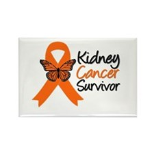 Kidney Cancer Survivor Rectangle Magnet (10 pack)