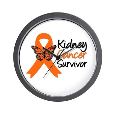 Kidney Cancer Survivor Wall Clock