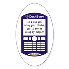 CrashBerry - Your Thumbs, My Finger Decal