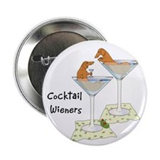 """Cocktail Wieners (red) 2.25"""" Button (10 pack)"""