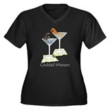 Cocktail Wieners (duo) Women's Plus Size V-Neck Da