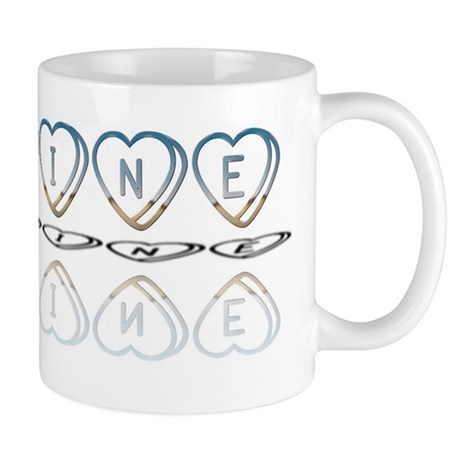 Be Mine Hearts Mug