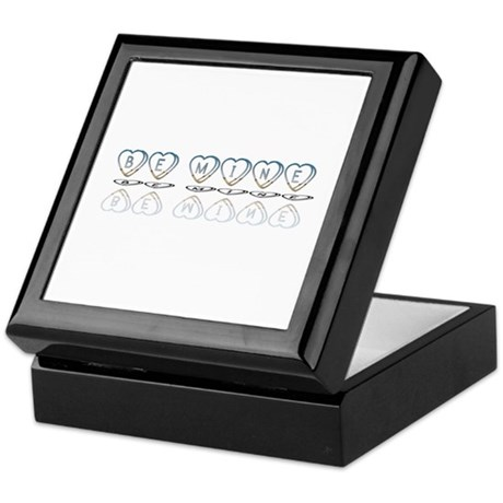 Be Mine Hearts Keepsake Box