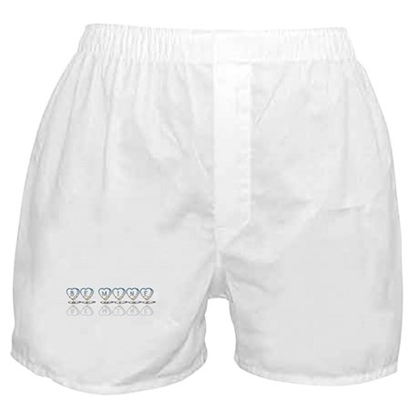 Be Mine Hearts Boxer Shorts