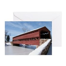 Sach's Covered Bridge Greeting Cards (Pk of 10)
