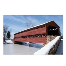 Sach's Covered Bridge Postcards (Package of 8)