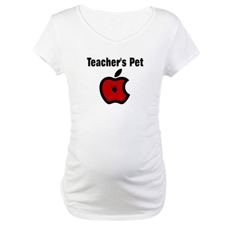 Teachers Pet Maternity T-Shirt