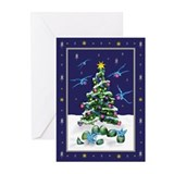 Baby Blue Dragons Christmas Cards (Pk of 10)