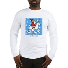 santa rocks Long Sleeve T-Shirt