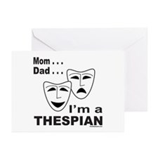 ACTOR/ACTRESS/THESPIAN Greeting Cards (Pk of 10)