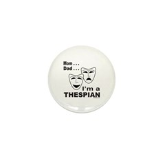 ACTOR/ACTRESS/THESPIAN Mini Button (100 pack)