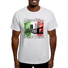 "Brooklyn""Italian Flag"" T-Shirt"