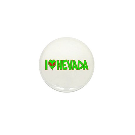 I Love-Alien Nevada Mini Button