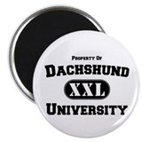 "Dachshund University 2.25"" Magnet (10 pack)"