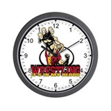 Wrestling's in my Blood Wall Clock