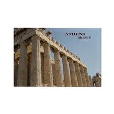 Parthenon Rectangle Magnet