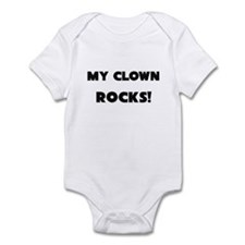 MY Clown ROCKS! Infant Bodysuit