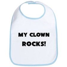 MY Clown ROCKS! Bib