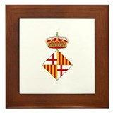 Cute Coat of arms Framed Tile
