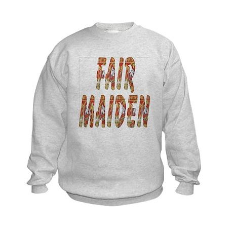 Fair Maiden Kids Sweatshirt