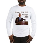 Barack Obama Inauguration Long Sleeve T-Shirt