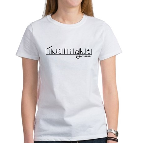 Twilight My Anti-Drug Women's T-Shirt