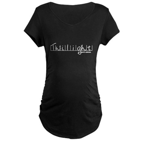 Twilight My Anti-Drug Maternity Dark T-Shirt