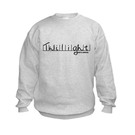 Twilight My Anti-Drug Kids Sweatshirt