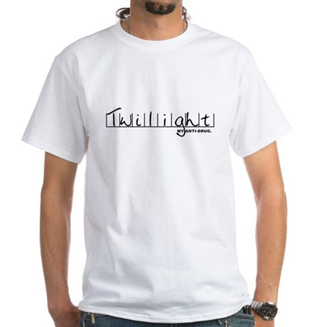 Twilight My Anti-Drug White T-Shirt
