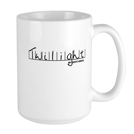 Twilight My Anti-Drug Large Mug