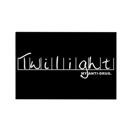 Twilight My Anti-Drug Rectangle Magnet (100 pack)