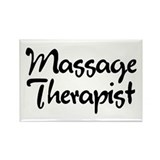 Massage Therapist T-Shirt Rectangle Magnet
