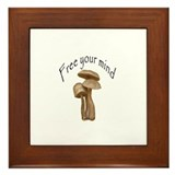 Funny Cool hemp Framed Tile