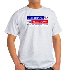 olbermann maddow 2012 Light T-Shirt