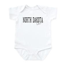 North Dakota Girl Infant Bodysuit