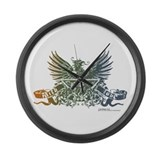 Unique Griffin Large Wall Clock
